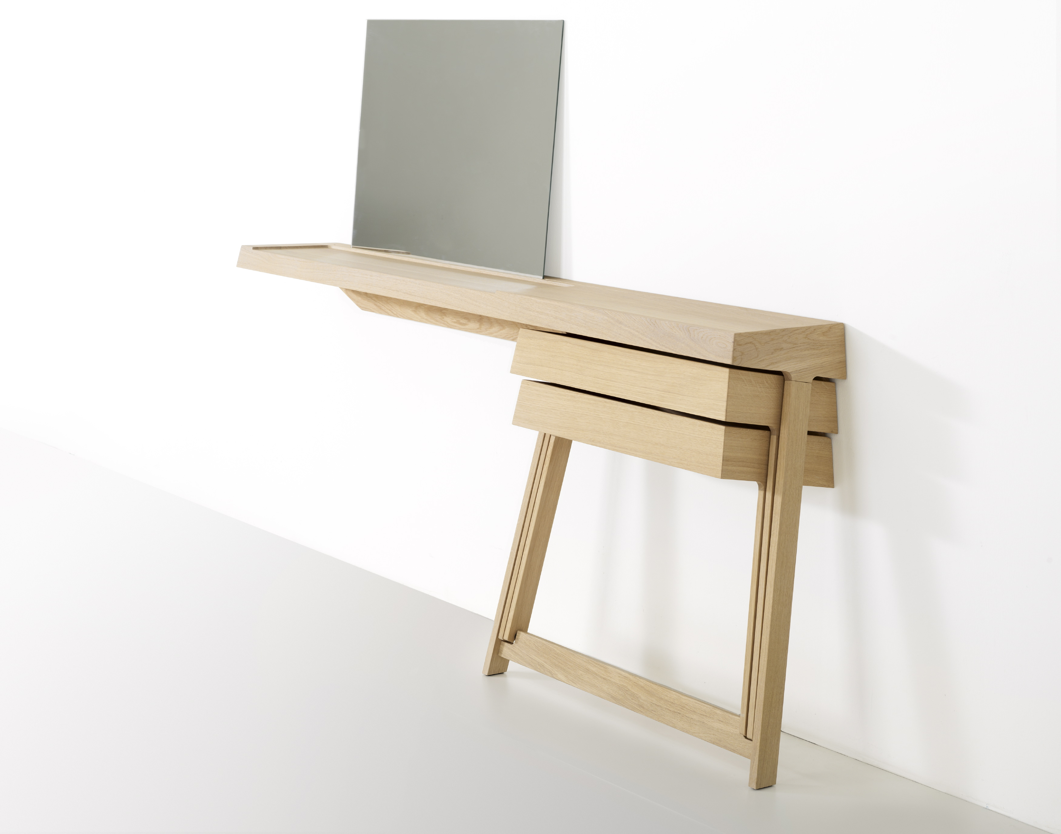 By Product Tables Arco Pivot Drawers