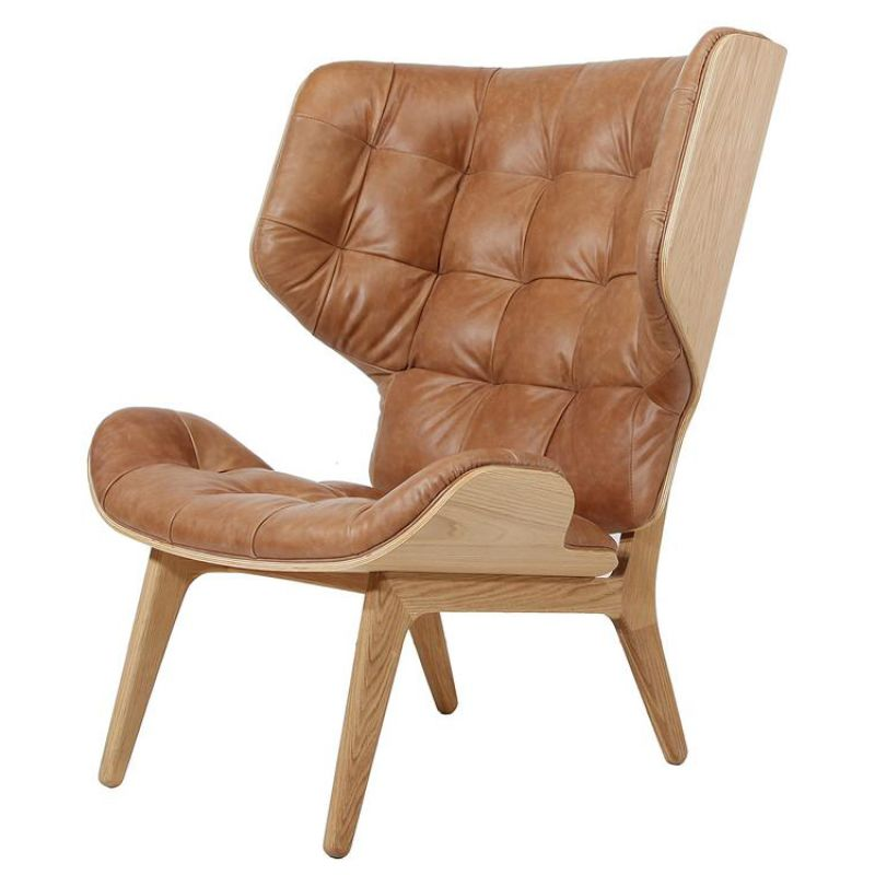 By Product :: Seating :: CONTEMPORARY WINGED ARMCHAIR